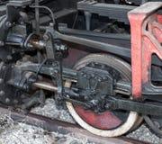 Locomotive wheels lubrication Royalty Free Stock Photos