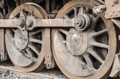 Locomotive Wheels Royalty Free Stock Images