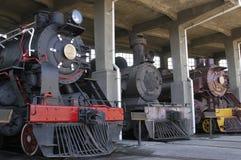 Locomotives à vapeur photographie stock libre de droits
