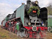 Locomotives à vapeur Photographie stock