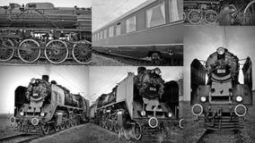 Locomotives à vapeur Image stock