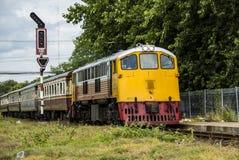 Locomotives électriques diesel Images libres de droits