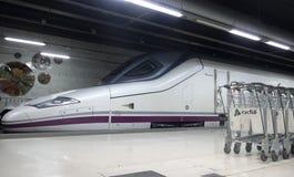 TGV. Locomotives of High speed train Royalty Free Stock Image