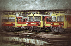 Locomotives Royalty Free Stock Photos
