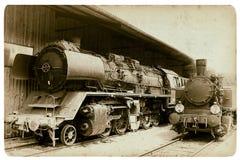 Locomotora Foto de archivo libre de regalías