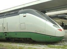 Locomotora de alta velocidad Imagen de archivo libre de regalías