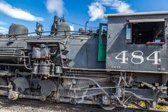 Locomotora de Cumbres y de Toltec Imagen de archivo