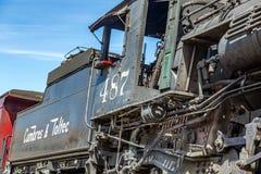 Locomotora de Cumbres y de Toltec Fotos de archivo