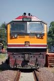 Locomotora de GE en la estación de tren de Chiangmai Imagenes de archivo