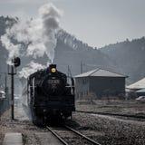 Locomotora de la corriente Foto de archivo