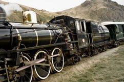 Locomotora de la escuela vieja Fotografía de archivo libre de regalías