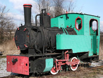 Locomotora de la vendimia Imagenes de archivo