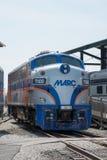 Locomotora de MARC F7-A General Motors EMD Fotografía de archivo