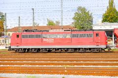 Locomotora de Railion Fotos de archivo