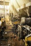 Locomotora de Suiza en el día soleado Imagenes de archivo