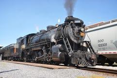 Locomotora de vapor Foto de archivo libre de regalías