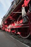 Locomotora de vapor Fotos de archivo libres de regalías