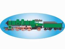 Locomotora de vapor Fotografía de archivo libre de regalías