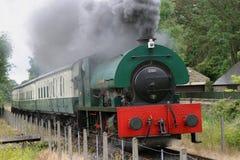 Locomotora de vapor 2150 en Elsecar Fotos de archivo libres de regalías