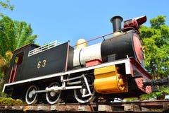 Locomotora de vapor. Foto de archivo libre de regalías
