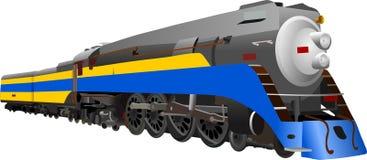 locomotora de vapor libre illustration