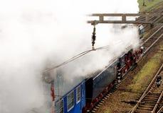 Locomotora de vapor Albatros en el movimiento Imagen de archivo libre de regalías