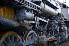 Locomotora de vapor arruinada Fotos de archivo