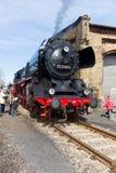 Locomotora de vapor Borsig 03 2155-4 (clase 03 del DRG) Fotos de archivo