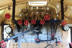 Locomotora de vapor D4 268 Fotografía de archivo libre de regalías