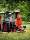 Locomotora de vapor de la vendimia Fotos de archivo libres de regalías