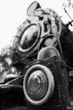 Locomotora de vapor del vintage fotografía de archivo