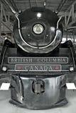 Locomotora de vapor el Hudson Fotografía de archivo