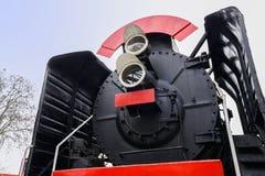 Locomotora de vapor en 1950 s Imagen de archivo
