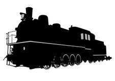 Locomotora de vapor grande tres Fotografía de archivo libre de regalías