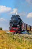 Locomotora de vapor histórica Fotografía de archivo