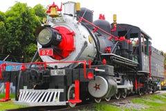 Locomotora de vapor II imagen de archivo