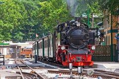 Locomotora de vapor, Rasender Roland, GEN del ¼ de RÃ fotografía de archivo