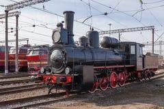 Locomotora de vapor vieja Foto de archivo