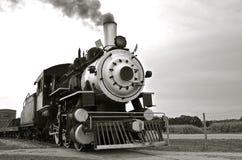 Locomotora de vapor vieja del vintage Imagen de archivo
