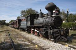 Locomotora del ferrocarril del vintage en el soporte Dora Florida los E.E.U.U. Foto de archivo