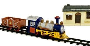 Locomotora del juguete Imagen de archivo