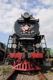 Locomotora del motor de vapor Imagen de archivo