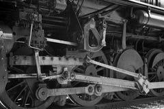 Locomotora del motor de vapor Imagen de archivo libre de regalías