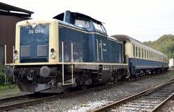 Locomotora del viejo estilo Foto de archivo
