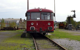 Locomotora del viejo estilo Fotografía de archivo libre de regalías