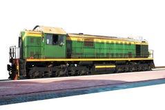 Locomotora diesel Foto de archivo libre de regalías