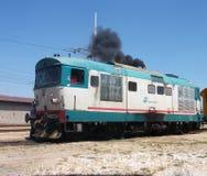 Locomotora diesel Imágenes de archivo libres de regalías