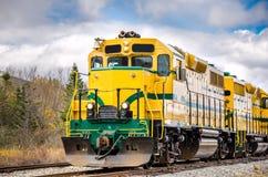 Locomotora diesel fotografía de archivo