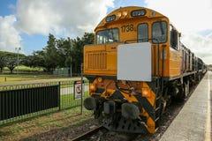 Locomotora diesel fotos de archivo libres de regalías