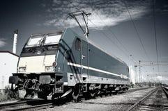 Locomotora eléctrica Imagen de archivo libre de regalías